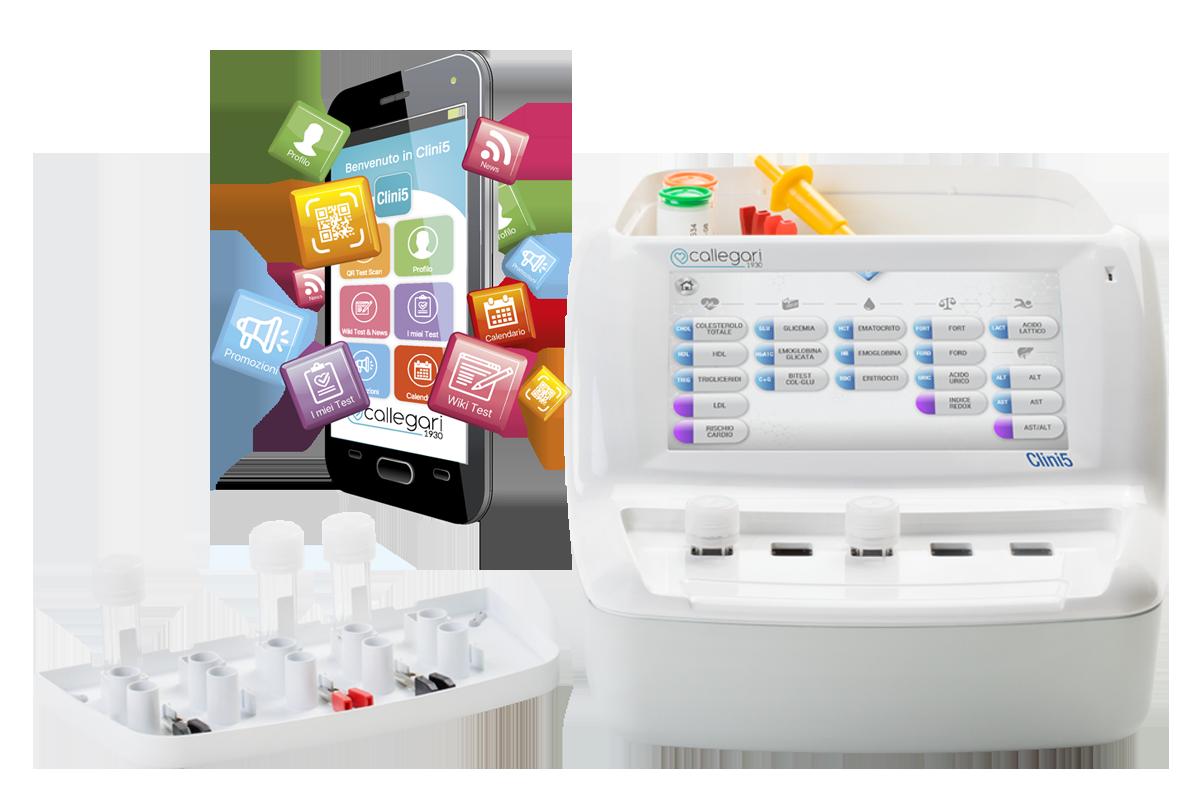 Auto-analisi del sangue in farmacia con Clini5